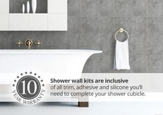 Browse our large range of wet wall panels for shower rooms. Our panel kits include everything to need to revamp your shower room yourself! Room, Shower Wall Kits, Shower Cubicles, Cubicle, Waterproof Shower Wall Panels, Wall Panels, Wall, Wall Paneling