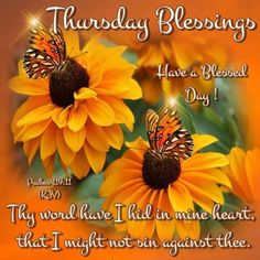 Thursday Blessing. Have a Blessed Day!!