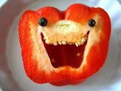 lachende paprika