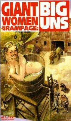 Giantess Booru (Image 188658: bath big_uns blonde comic drawing giantess pigtails smiling) - Giantess Artwork, Giantess Collages, Giantess Vore, Giantess Everything!