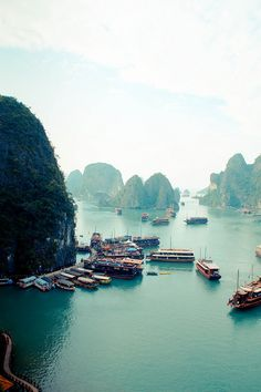 Places to go, things to see Ha Long Bay, Vietnam Places Around The World, Oh The Places You'll Go, Travel Around The World, Places To Travel, Travel Destinations, Places To Visit, Around The Worlds, Travel Stuff, Laos