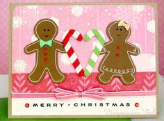 Gingerbread_couple / lovely couple / special husband / brother and sister in law
