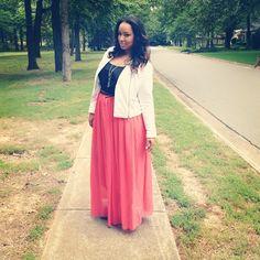 chiffon skirt #plus #size #fashion #plussize