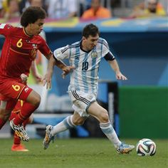 Argentina 1 Bélgica 0 (Copa del Mundo Brasil 2014,Estadio Nacional,Brasilia,05/07/2014)