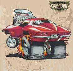 Pin By Jamie Jackson On Car Art photo ideas from Amazing Cars Photo Car Drawing Pencil, Cartoon Car Drawing, Cartoon Art, Weird Cars, Cool Cars, Ed Roth Art, Cartoons Magazine, Cool Car Drawings, Monster Car