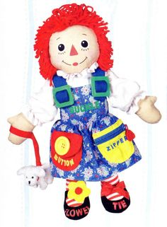 Dress Me Raggedy Ann Doll