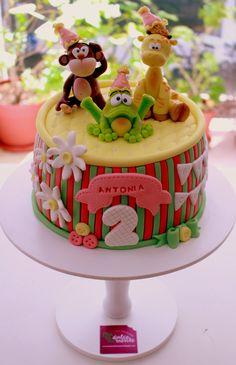 Torta infantil: Animales
