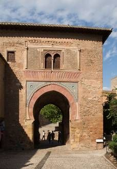Puerta del Vino. Alhambra de Granada