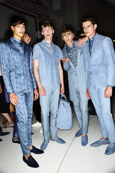Etro SS16 Men Fashion Show Milan Backstage | Sonny Vandevelde