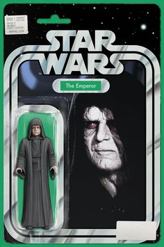 Star Wars Action Figure variant cover - The Emperor by John Tyler Christopher * Star Wars Comic Books, Star Wars Comics, Star Wars Toys, Star Wars Characters, Star Wars Art, Comic Books Art, Epic Story, Story Arc, Tyler Christopher