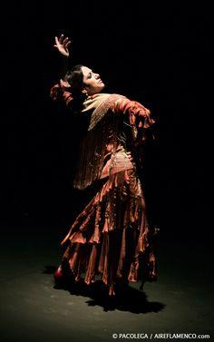 Eva Yerbabuena, el pasado sábado 2 de marzo en las XXIX Jornadas Flamencas de Fuenlabrada (Madrid). Foto: Pacolega.