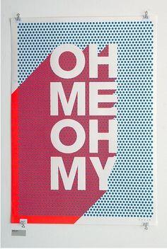 Pop art typography alphabet graphic design 68 Ideas for 2019 Layout Design, Design Logo, Design Poster, Design Art, Typography Images, Typography Love, Chinese Typography, Typography Quotes, Typography Letters