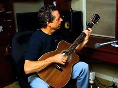 Custom Brazilian Rosewood Guitar, G71, builder Jay Lichty plays it's first tune