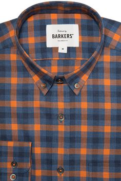 The Kamal Check Shirt is a soft100% cotton casual shirt, cut in our…