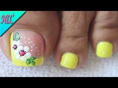 Cute Pedicure Designs, Toe Nail Designs, Cute Pedicures, Toe Polish, Purple Nails, Women's Feet, Toe Nails, Doodle Art, Hair Beauty