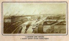 1865, a Nagykörút nyomvonalán, Reitter Ferenc által javasolt Pesti csatorna.Az 1800-as évek első első felében a mai Nagykörút helyén még egy holt Duna-ág volt. Nagy valószínűséggel ennek