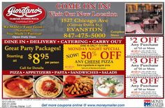 Get 20% OFF with Giordano's Pizza Promo Codes 2017 or coupon code during checkout at promo-code-land.com.