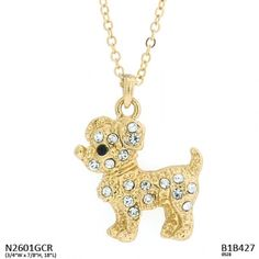 Puppy Necklace $20