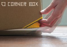 Simple Genius: A Cardboard Box With Built-In Handles | Co.Design: business + innovation + design