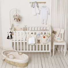 Your Baby's Wardrobe. The Basics Cribs, Kids Fashion, Babies, Children, Bed, Clothes, Furniture, Home Decor, Cots