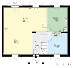 Maison 140 m² Rez-de-chaussée
