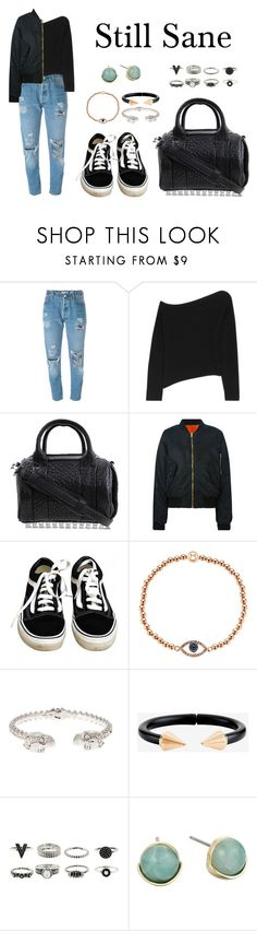 """""""Still Sane"""" by anaelle2 ❤ liked on Polyvore featuring Levi's, Alexander Wang, LISKA, Vans, Melissa Odabash, Alexander McQueen, Vita Fede and Cole Haan"""