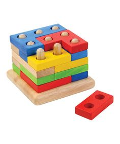 Look what I found on #zulily! Stacking Jigsaw Puzzle Set by Voilà #zulilyfinds