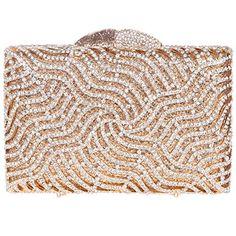 Fawziya® Lightning Women Clutch Purse Rhinestone Crystal Clutch Evening Bag-Gold Fawziya http://www.amazon.com/dp/B00XJE0LU8/ref=cm_sw_r_pi_dp_tVjbxb015R19D