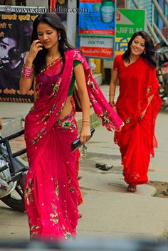 Girls in Kathmandu Nepal
