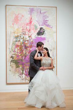 Classic Modern Wedding in Ft Worth   Reception Wedding: Modern Art Museum of Fort Worth   Wedding Planner: Tami Winn Events   Photography: Tracy Autem Photography #bridesofnorthtx #wedding #weddingdaylove