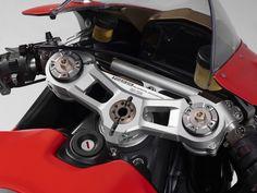 2017 ducati 1299 superleggera triple clamp details