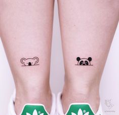 80 Adorable Ankle Tattoos That All Deserve Oscars Straight Blasted Disney Tattoo Bff Tattoos, Mini Tattoos, Ankle Tattoos, Friend Tattoos, Disney Tattoos, Cute Tattoos, Tattoos For Guys, Tatoos, Cousin Tattoos