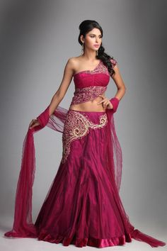 Resham as well Swarovski Work Lehenga