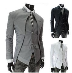 P - Third, this is the formal futuristic jacket/vest combo I was thinking for a number of the men for the wedding
