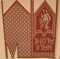 Bilderesultat for familien strikkeoppskrifter Knitted Mittens Pattern, Knitting Socks, Mitten Gloves, Hand Knitting, Crochet Pattern, Knitting Charts, Knitting Patterns Free, Sewing Patterns, Hardanger