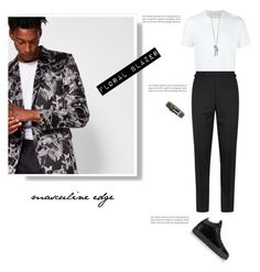 """""""Masculine Edge"""" by beautymanifesting ❤ liked on Polyvore featuring Ted Baker, Neil Barrett, Tom Ford, Giuseppe Zanotti, title of work, men's fashion and menswear"""