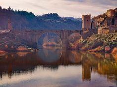 Puente de Alcántara, Toledo, Spain by raspu