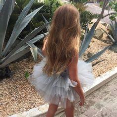 Barefoot babe wearing 'Betty' 🌺 X, Plum @elladiajones #tutu #iloveplum #plumnyc