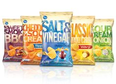 Potato Chips - Packaging designed by Design Resource Center http://www.drcchicago.com/