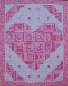 (7) Name: 'Quilting : Loving Heart Quilt Pattern
