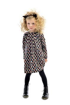 Nico Cat Dress | Rock Your Kid Winter 2014 | Girls' Fashion | www.rockyourbaby.com