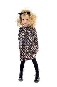 Nico Cat Dress   Rock Your Kid Winter 2014   Girls' Fashion   www.rockyourbaby.com