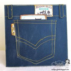 Jeans Pocket Card