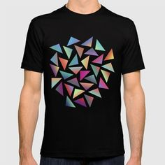 >> Click to Buy << 2017 black friday men t shirts Geometric Pattern III short O neck Print Cotton anime tees homme Clothing #Affiliate