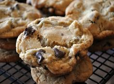 New York Times PERFECT Chocolate Chip Cookie Recipe {Adapted for High Altitude} : Mountain Mama Cooks