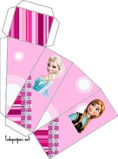 Cajitas de Frozen para armar | Todo Peques Birthday Presents For Girls, Birthday Gift Cards, Birthday Box, Birthday Gifts For Boyfriend, Friend Birthday, Disney Frozen Birthday, Frozen Party, Birthday Girl Pictures, Diy Doll Miniatures