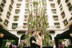 Destination Wedding at the Four Seasons George V, Paris, by Photographer Brant Smith