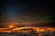 What the Sky looked like when I was a kid and there were fewer bright city and town lights interfering.  So sad our kids are missing these wonders!