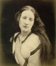 Hattie Campbell by Julia Margaret Cameron