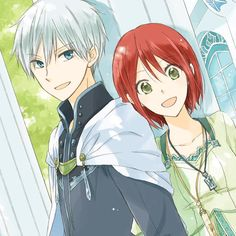 Akagami no Shirayukihime: Zen and Shirayuki